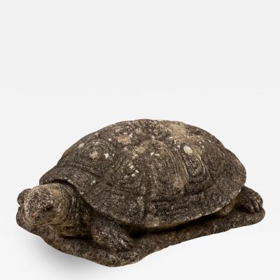 Vintage Stone Tortoise