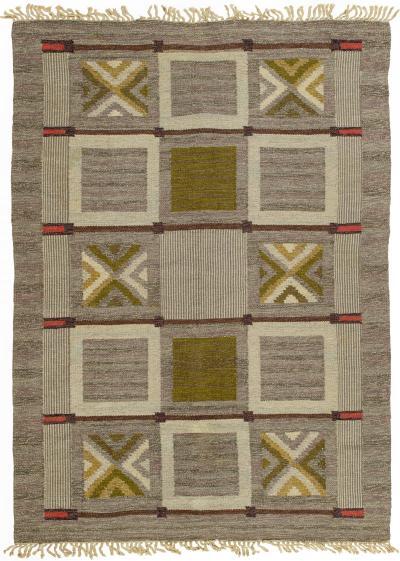 Vintage Swedish Flat Weave