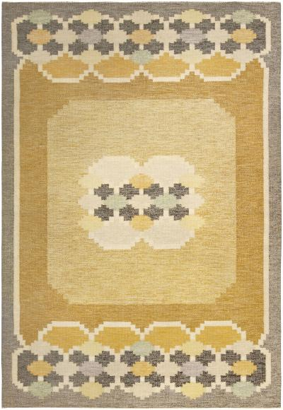 Vintage Swedish Rug by Ingegerd Silow