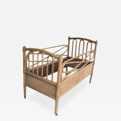 Vintage Swiss Bentwood Daybed