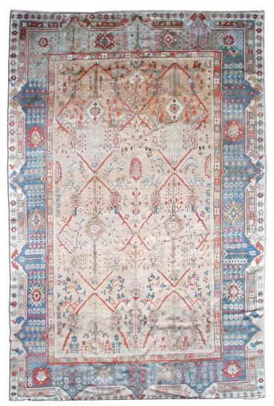 Vintage Turkish Ghiordes Rug