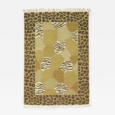 Vintage Turkish Modernist Rug rug no r4996