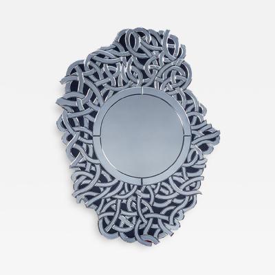 Vintage Venetian Mirror by Fratelli Barbini of Murano