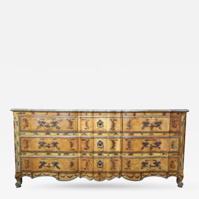 Vintage Widdicomb Dresser Painted in the Italian Rococo Manner