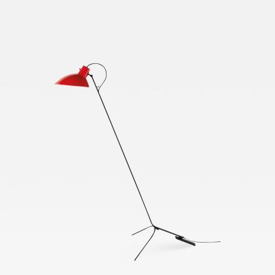 Vittoriano Vigano Vittoriano Vigan VV Cinquanta Floor Lamp in Red