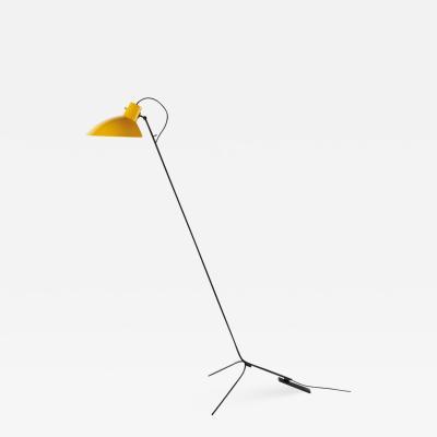 Vittoriano Vigano Vittoriano Vigan VV Cinquanta Floor Lamp in Yellow