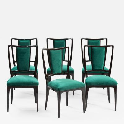 Vittorio Dassi Vittorio Dassi Dining Chairs Set of Six