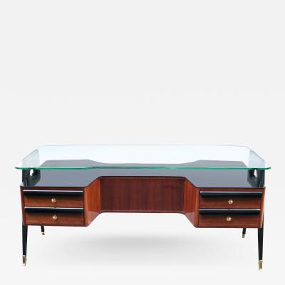 Vittorio Dassi italian Modernist Writing desk by Vittorio Dassi