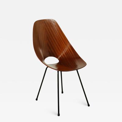 Vittorio Nobili Chair Medea Vittorio Nobili Tagliabue Bentwood Metal Italy 1950s 60s