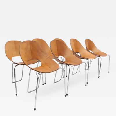 Vittorio Nobili Set of Eight Vittorio Nobili Chairs