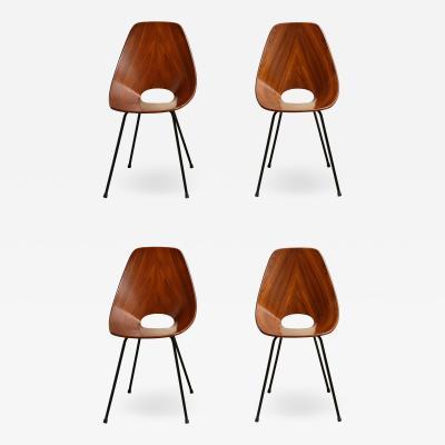 Vittorio Nobili Set of four Medea Chairs by Vittorio Nobili for Fratelli Tagliabue