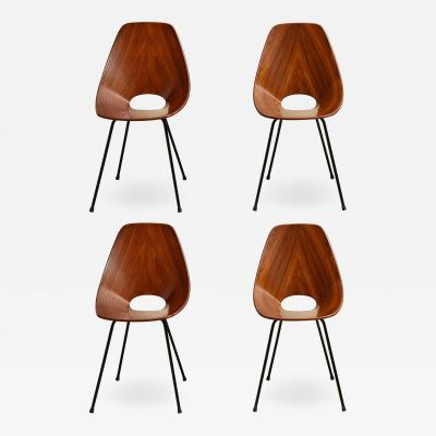 Vittorio Nobili Set of four Medea Chairs by Vittorio Nobili for Fratelli Tagliabue