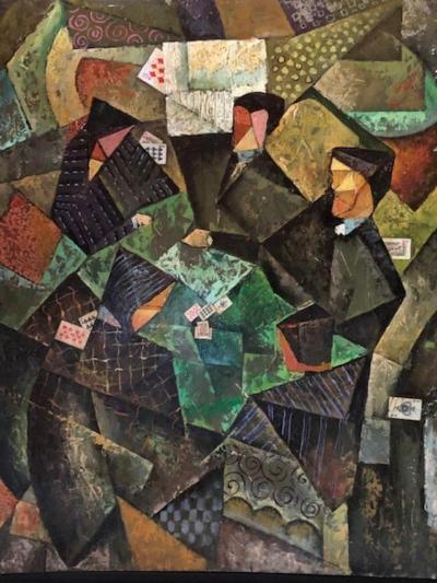 Vladeimir Doronine The Card Players