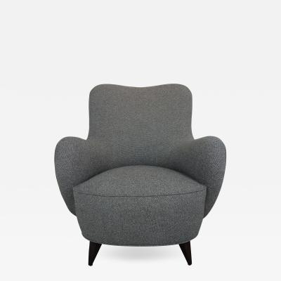 Vladimir Kagan Barrel Lounge Chair by Vladimir Kagan