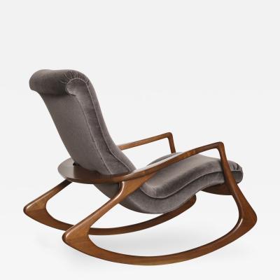 Vladimir Kagan Contour Rocking Chair by Vladimir Kagan