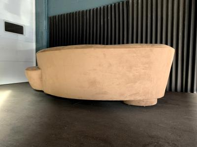 Vladimir Kagan Flawless Vladimir Kagan for Directional Serpentine Sofa