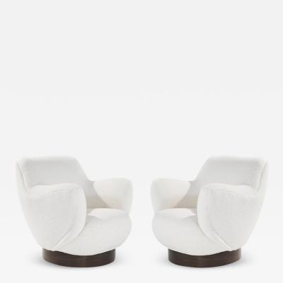 Vladimir Kagan Kagan Dreyfuss Swivel Chairs Model 100A by Vladimir Kagan