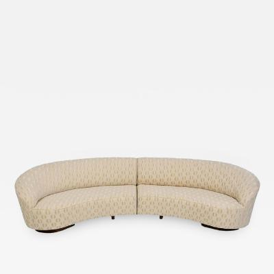 Vladimir Kagan New Moon Sectional Sofa by Vladimir Kagan for Kagan Coutour