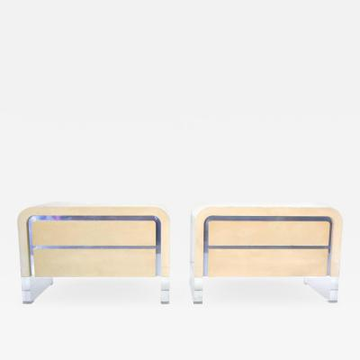 Vladimir Kagan Pair of Vladimir Kagan Chests of Drawers or Nightstands