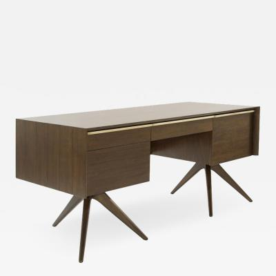 Vladimir Kagan Rare Walnut Desk by Vladimir Kagan for Grosfeld House circa 1950s