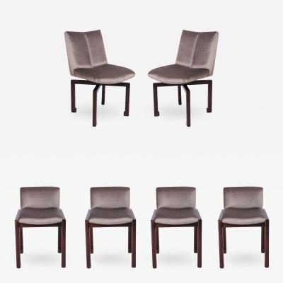 Vladimir Kagan Set of Six 1950s Vladimir Kagan Dining Chairs