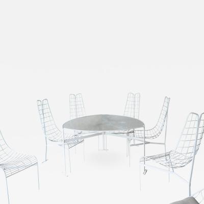Vladimir Kagan VLADIMIR KAGAN TABLE AND CHAIRS