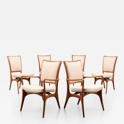 Vladimir Kagan Vladimir Kagan 175A Dining Chairs Set of Six