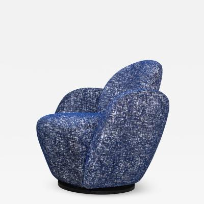 Vladimir Kagan Vladimir Kagan For Directional Swivel Lounge Chair
