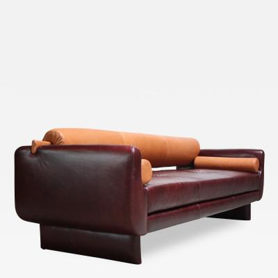 Vladimir Kagan Vladimir Kagan Matinee Sofa Daybed in Leather