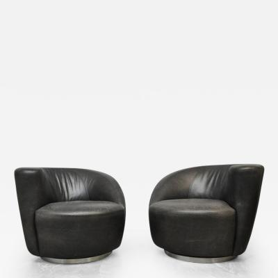 Vladimir Kagan Vladimir Kagan Nautilus Swivel Chairs