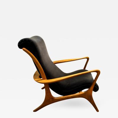 Vladimir Kagan Vladimir Kagan Sculpted Contour Chair 1950s