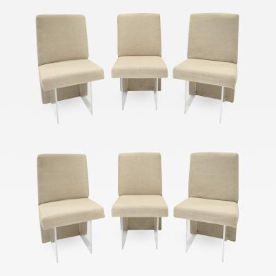 Vladimir Kagan Vladimir Kagan Set of 6 CLOS Dining Chairs 1975 signed