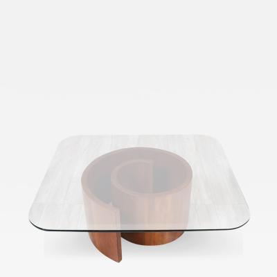 Vladimir Kagan Vladimir Kagan Snail Coffee Table for Selig