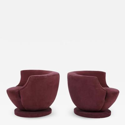 Vladimir Kagan Vladimir Kagan Swivel Chairs for Directional