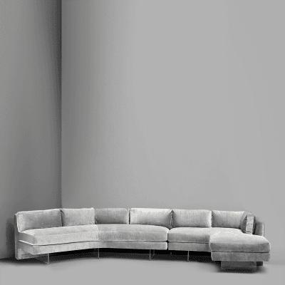 Vladimir Kagan Omnibus Sofa