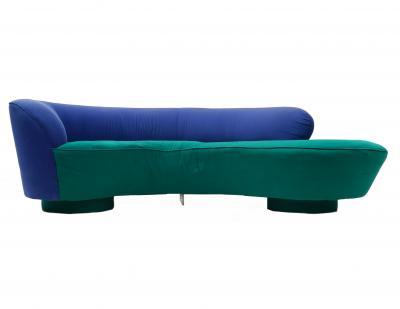 Vladimir Kagan Vladimir Kagan for Directional Serpentine Sofa