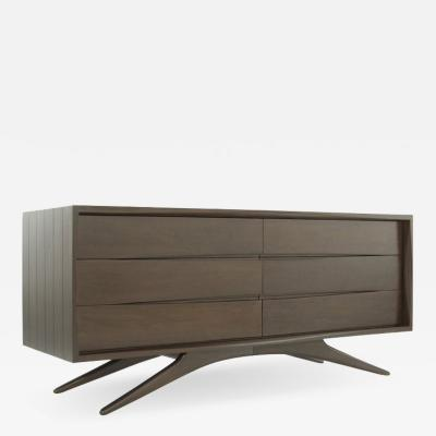 Vladimir Kagan Walnut Dresser by Vladimir Kagan for Grosfeld House NY c 1950s