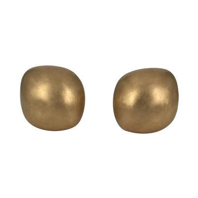 Vogelsang Brushed Pink Gold Earrings