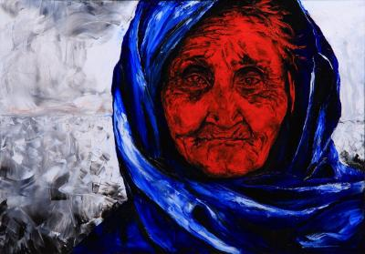 Volodya Hubanov The Blue Scarf