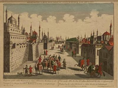 Vue doptique of Constantinople