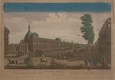 Vue doptiue France Circa 1775