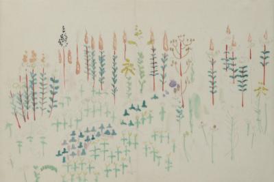 William Zorach Field Full of Wild Flowers 1913
