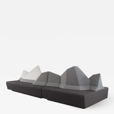 WALKING CHAIR Kohlmaier Manufaktur MONTE BELLO modular mountain range sofa