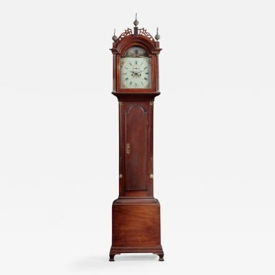 WHITNEY FAMILY FEDERAL TALL CASE CLOCK