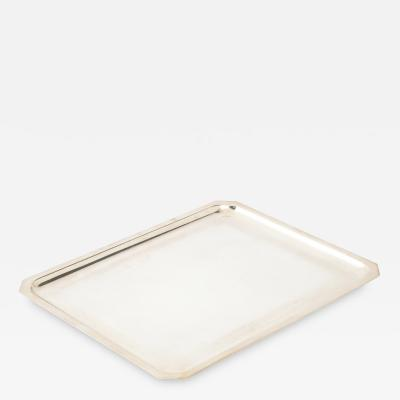 WISKEMANN SILVER PLATED TRAY