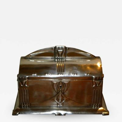 WMF Art Nouveau silver box with lid