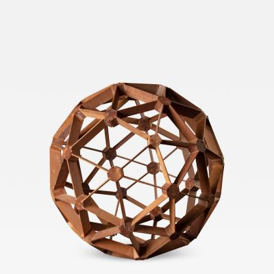 WOOD GEODESIC SCULPTURE