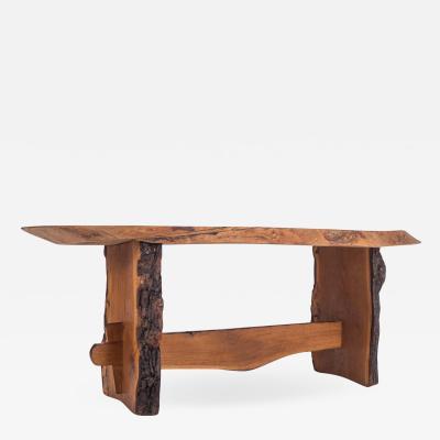 Wabi Sabi Style Dining Table In American Redwood 1960s