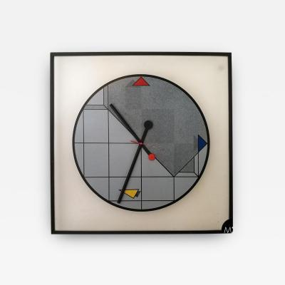 Wall clock by Kurt B Delbanco for Morphos