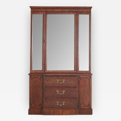 Walnut Hutch or China Cabinet